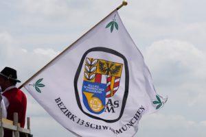 ASM Bezirk 13 Schwabmünchen Fahne