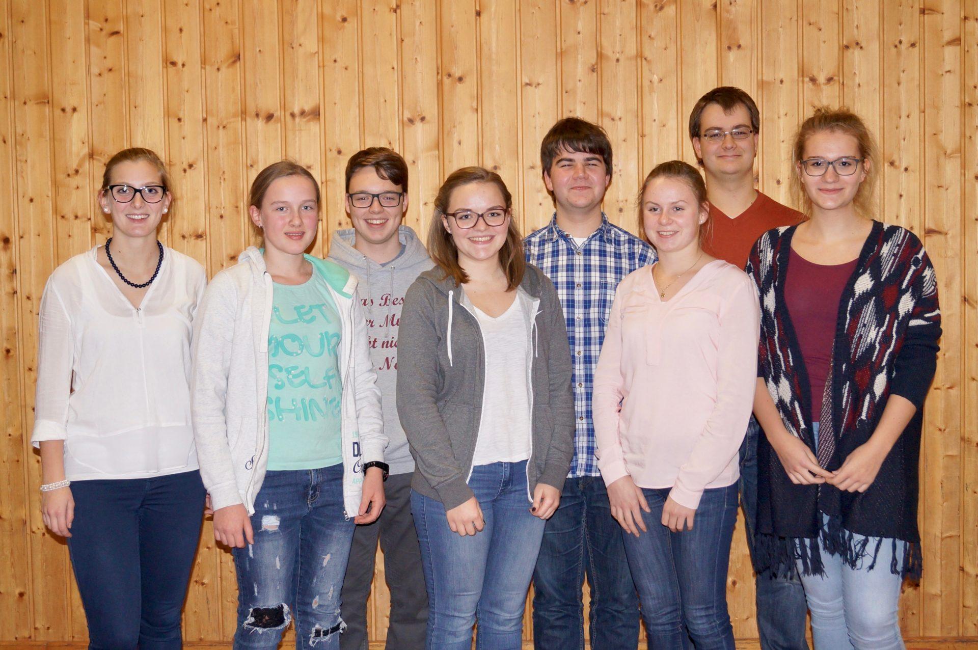 Jugendvorstandschaft Stadtkapelle Bobingen